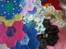 Hexagon patchwork mats 3