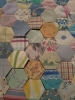 Patchwork layout closeup